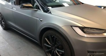 Tesla Model X Avery Gunmetal